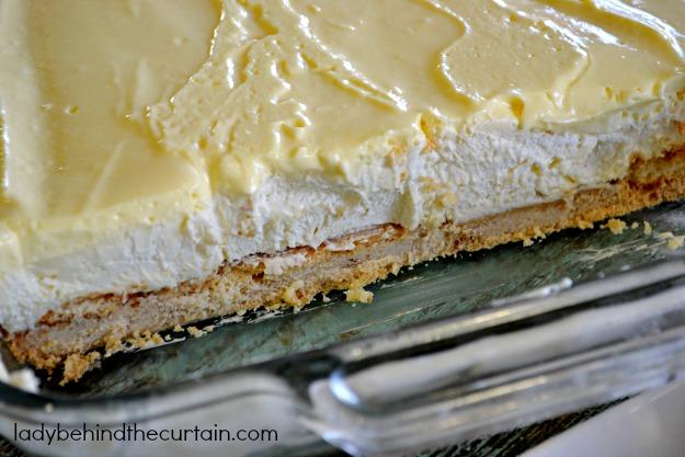 Recipe for Banana Cream Pie Bars