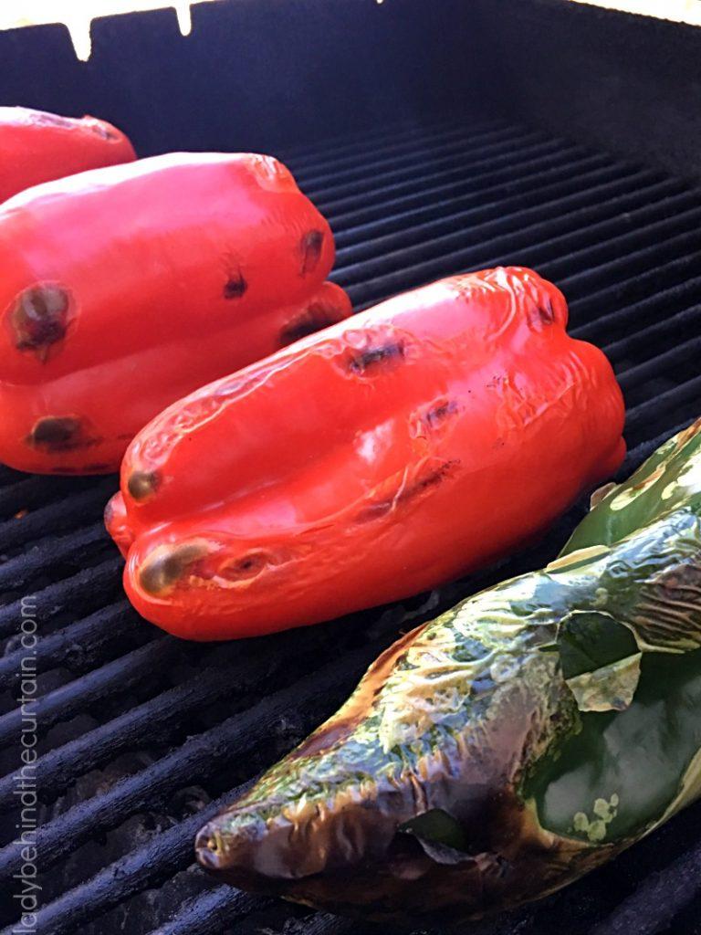 Roasted Red Pepper Vinaigrette