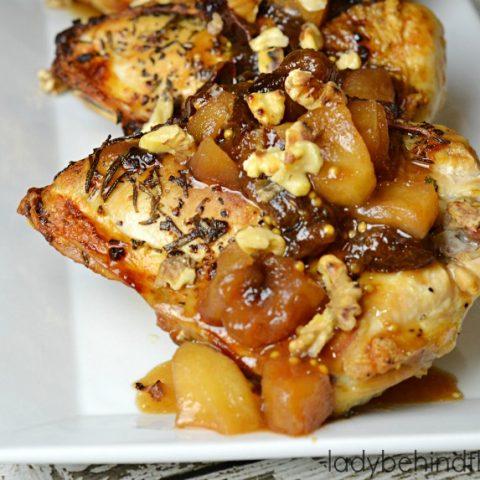 Rosemary Garlic Roasted Chicken