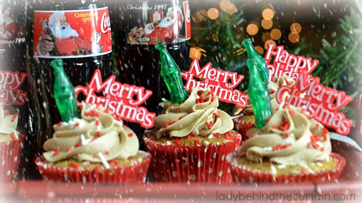 Semi Homemade Coca Cola Cupcakes