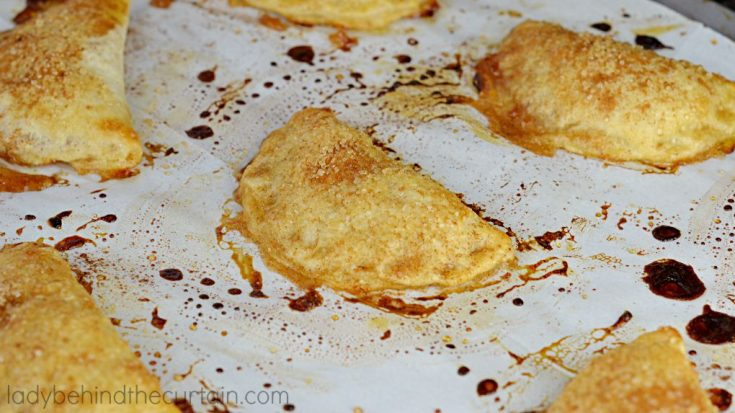 Semi Homemade Mini Caramel Apple Pies