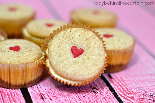 Snickerdoodle Cookie Dough Mini Cheesecakes