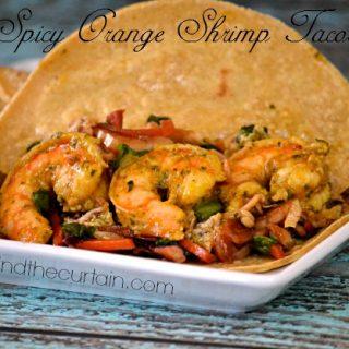 Spicy Orange Shrimp Tacos