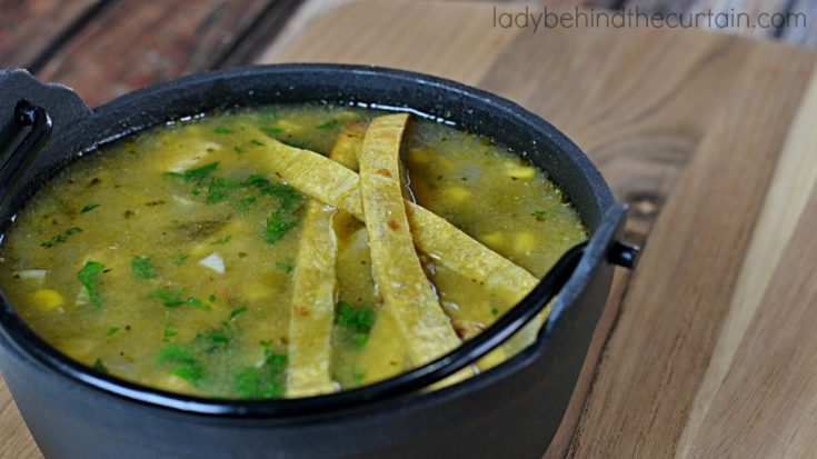 Spicy Pork Green Chile Soup
