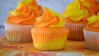 Sunset Cupcakes