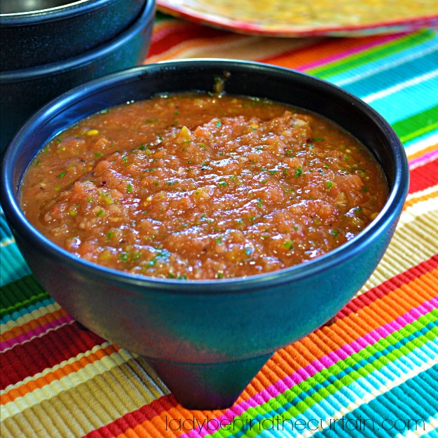 The Best and Easiest Salsa