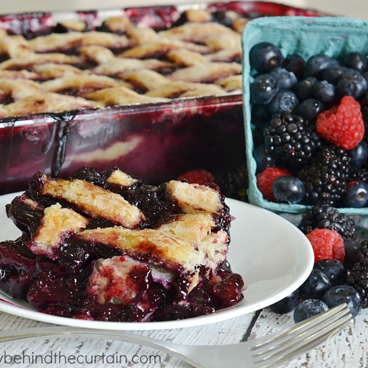 Triple Berry Cobber
