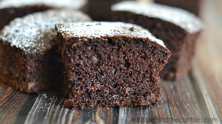 Triple Chocolate Snack Cake