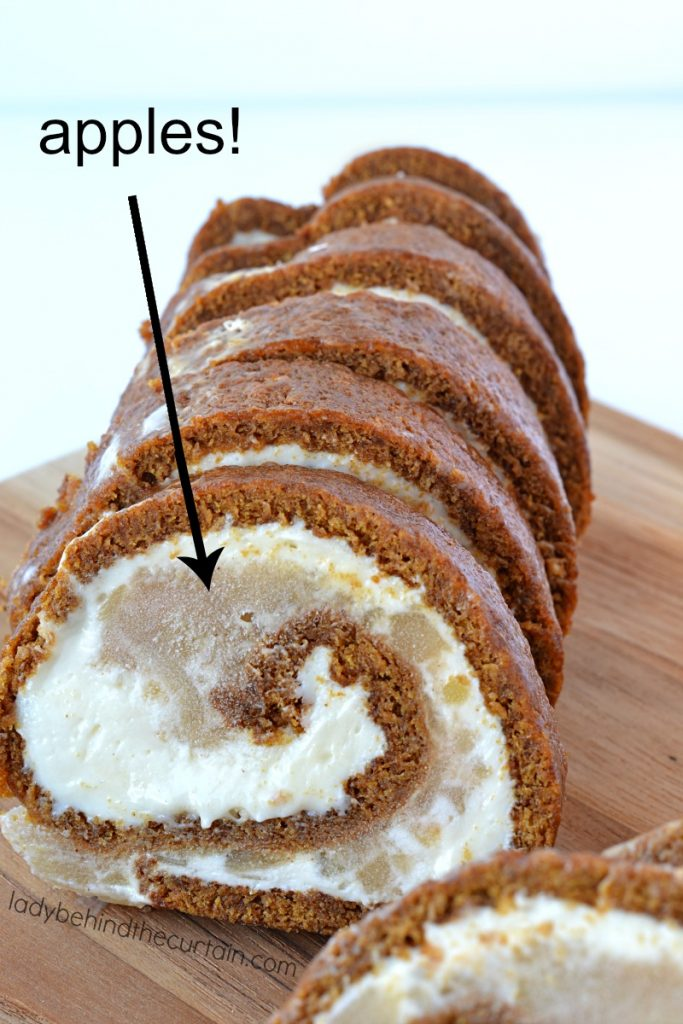 Apple Pie Cake Roll