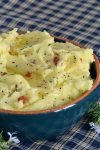 Bacon Rosemary Mashed Potatoes