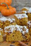Caramel Pecan Pumpkin Bars