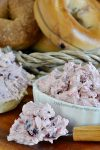 Christmas Cranberry Pecan Cream Cheese Spread