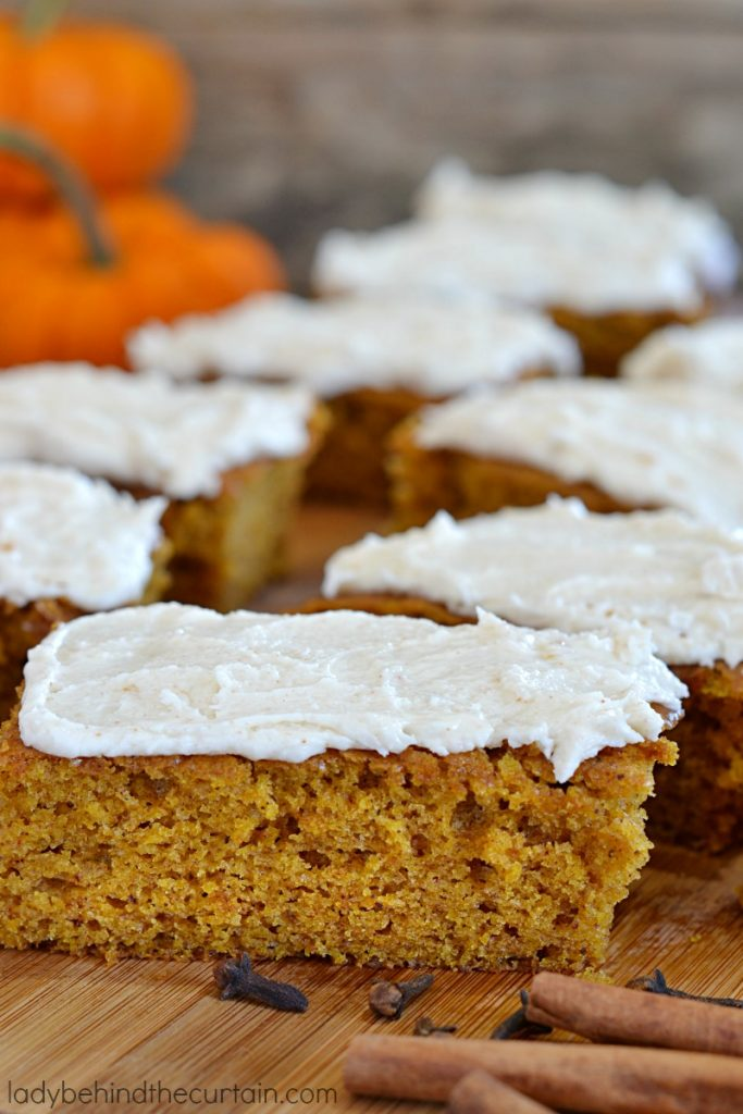 Easy to Make Classic Pumpkin Bars