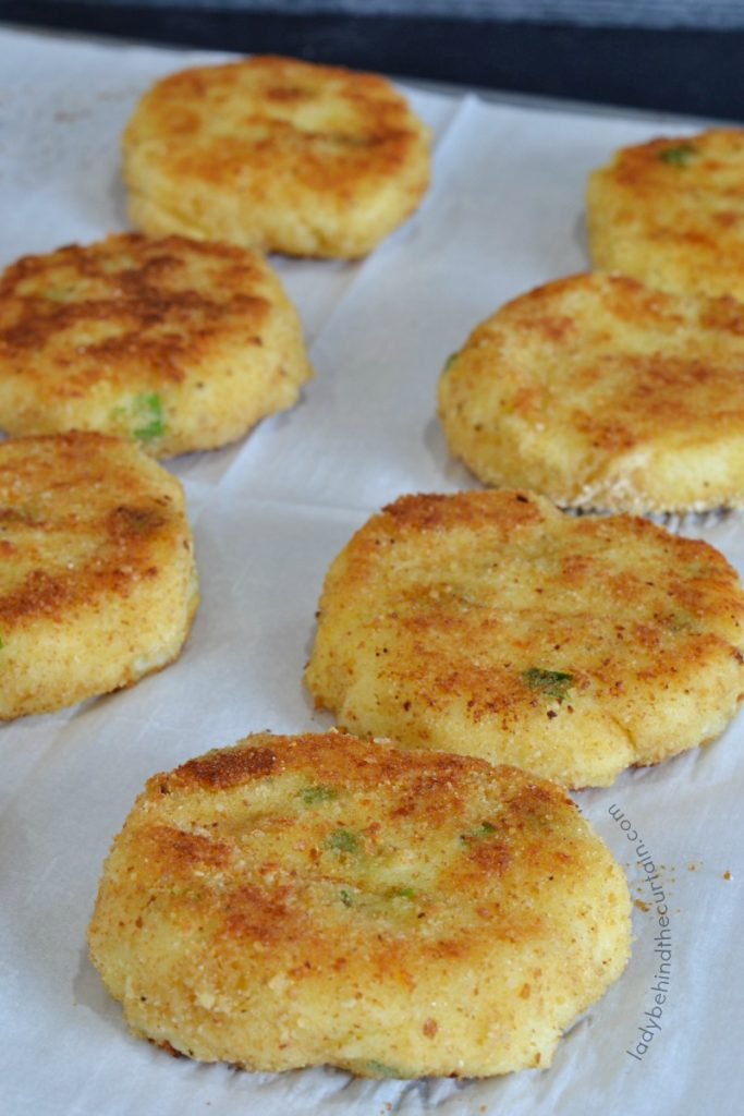 Leftover Mashed Potato Patties