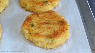 Leftover Mashed Potato Patties
