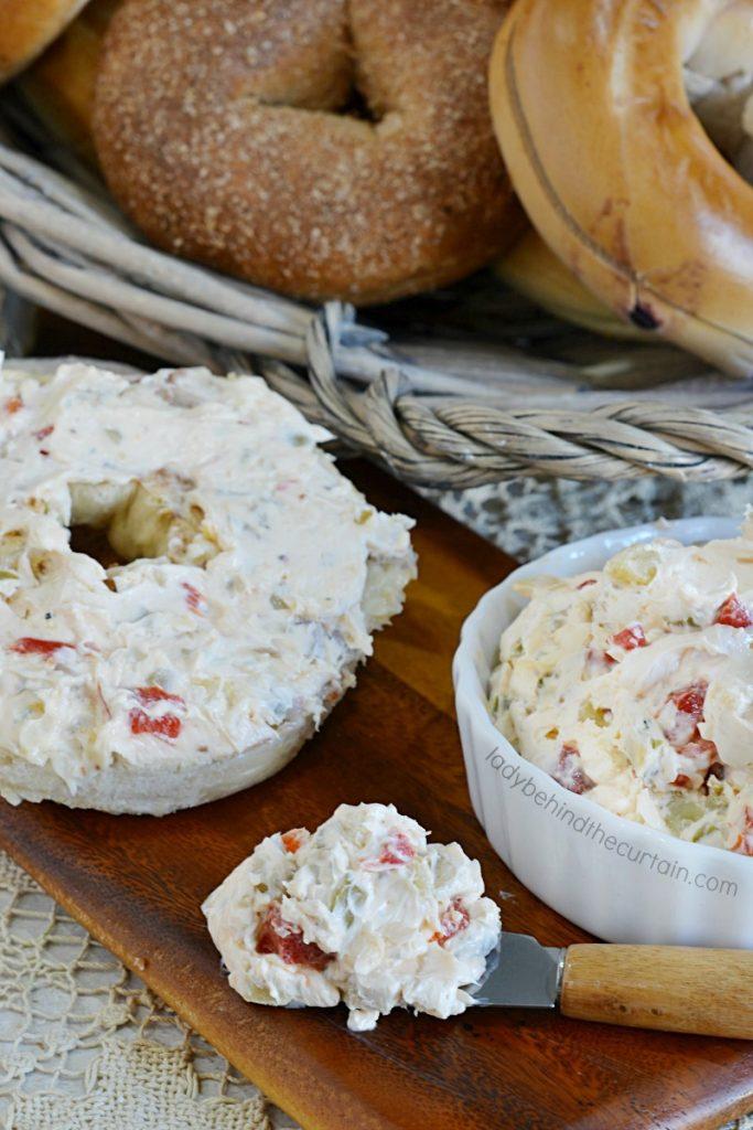 Tuscan Cream Cheese Spread
