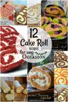 12 Cake Roll Recipes for any Occasion