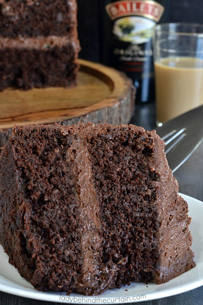 Irish Cream Chocolate Cake
