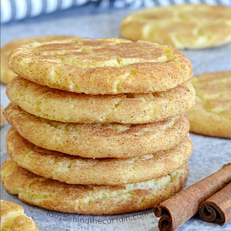 Classic Chewy Snickerdoodle Cookies