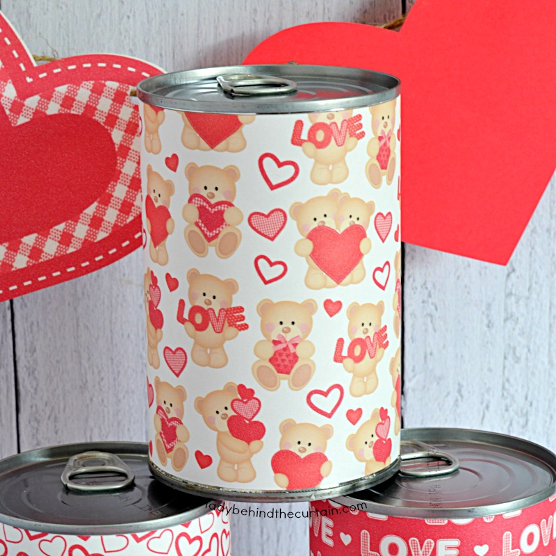 Valentine's Day Party in a Can
