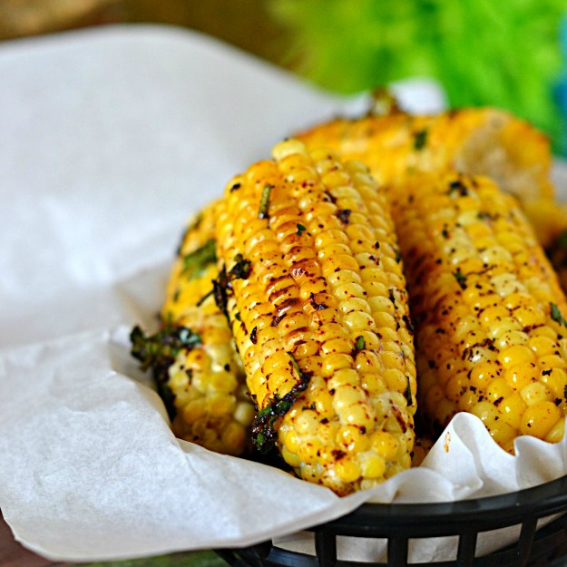 Chile Lime Baked Corn
