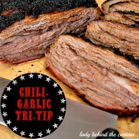 Grilled Chili-Garlic Tri-Tip