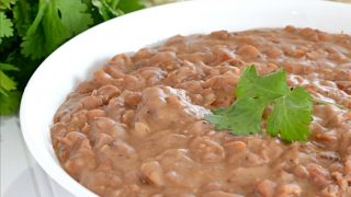 Instant Pot Refried Beans