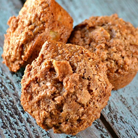 Light Apple Cinnamon Muffins