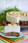 Carrot Cake No Bake Cheesecake