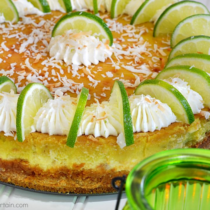 Coconut Lime Cheesecake