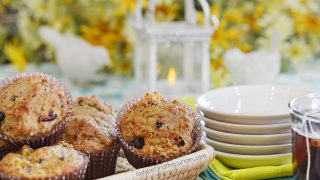 Fruit and Flaxseed Muffins
