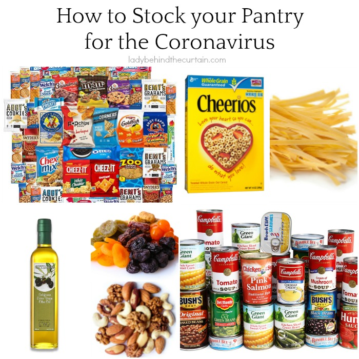 How to Stock Your Pantry for the Coronavirus