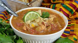 Semi Homemade Pantry Chicken Tortilla Soup
