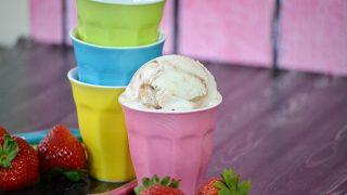 Strawberry Swirl Cheesecake Ice  Cream