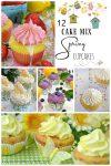 12 Cake Mix Spring Cupcakes