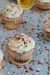 Semi Homemade Neapolitan Cupcakes