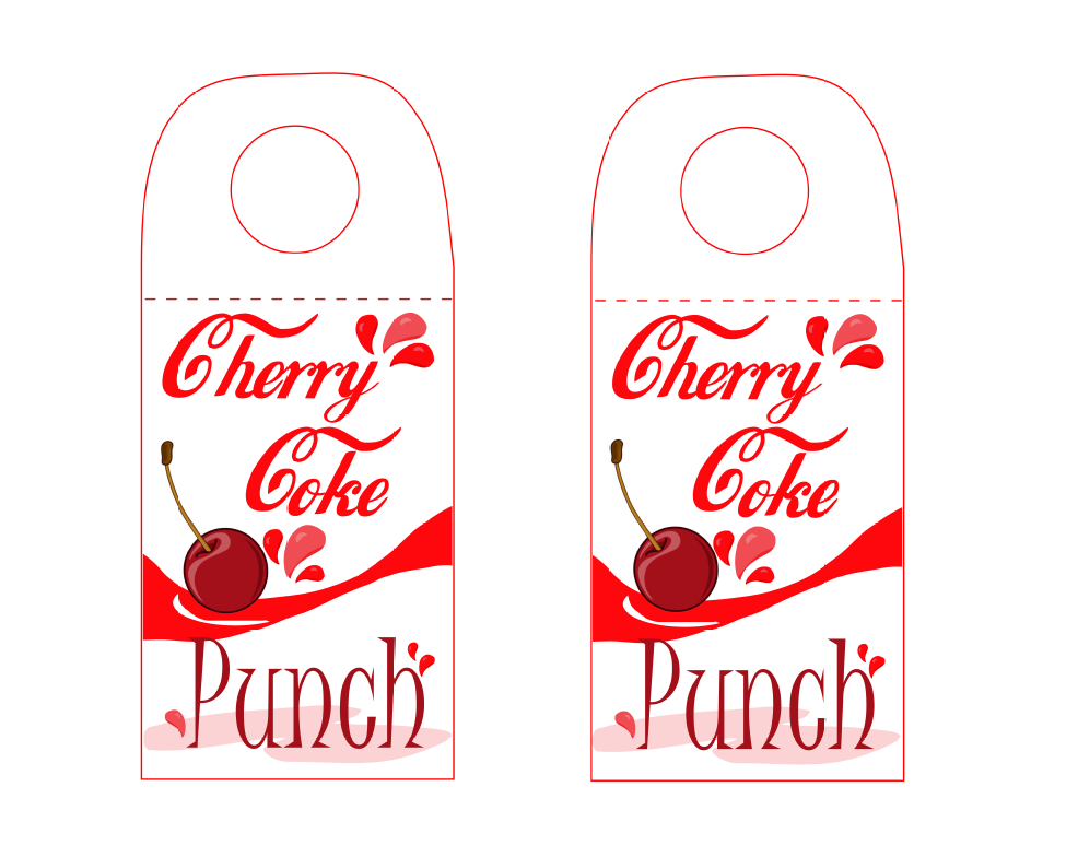 CHERRY COKE PUNCH TAG
