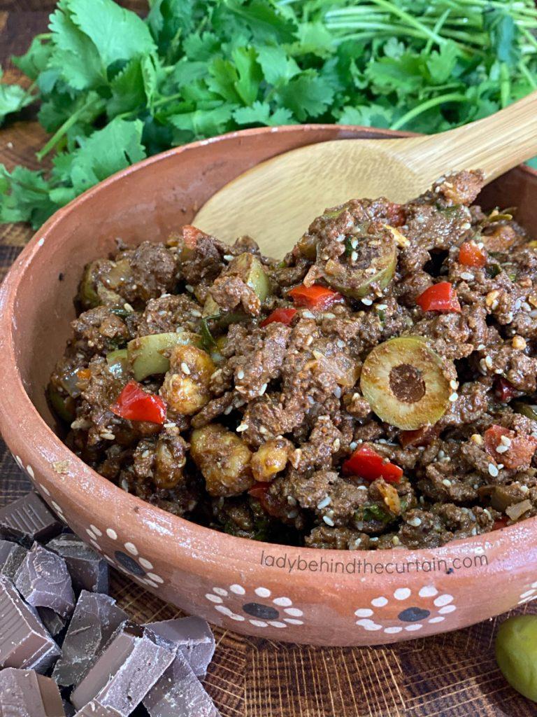 Molé Ground Beef
