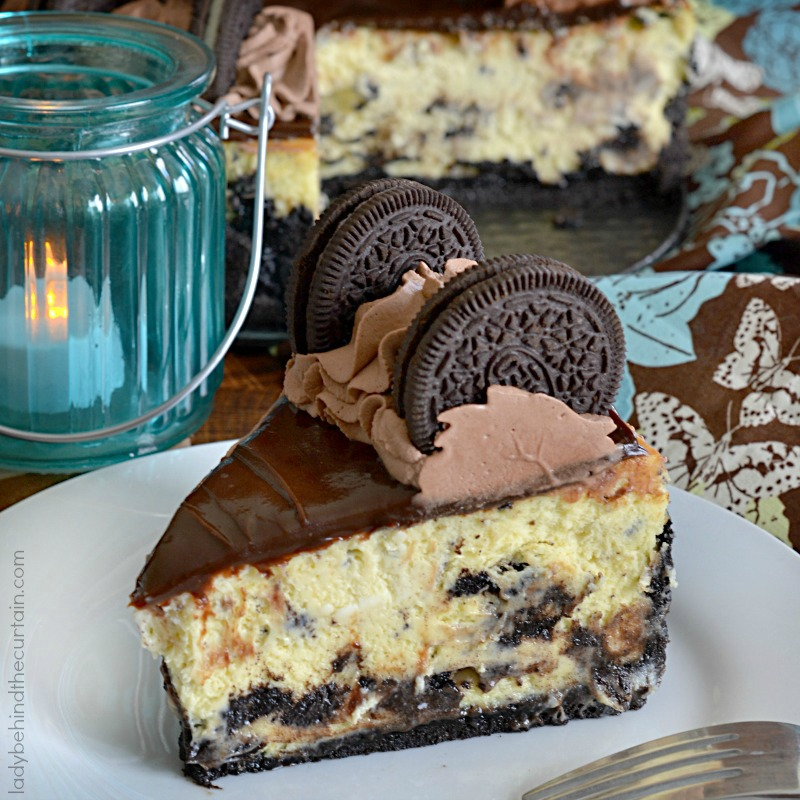 Chocolate Explosion Oreo Cheesecake