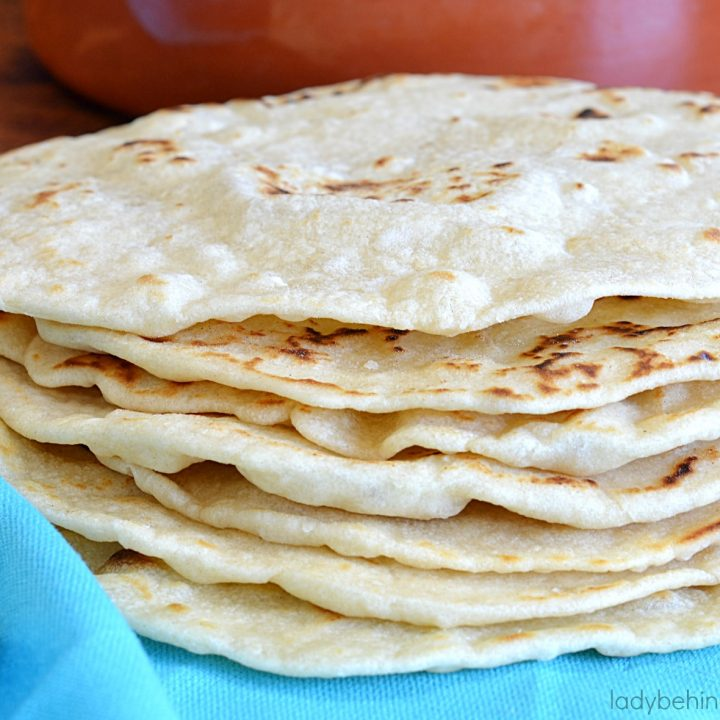 Easy Homemade Flour Tortillas