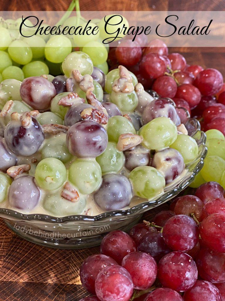 Cheesecake Grape Salad