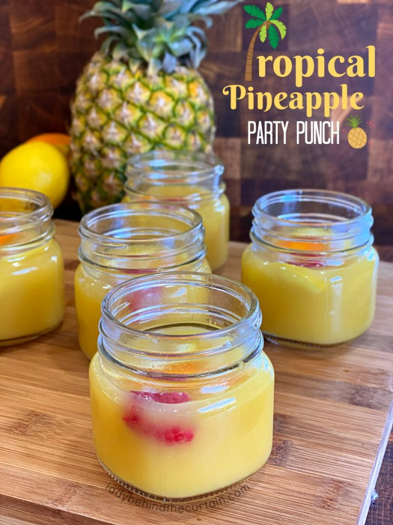 Tropical Pineapple Party Punch