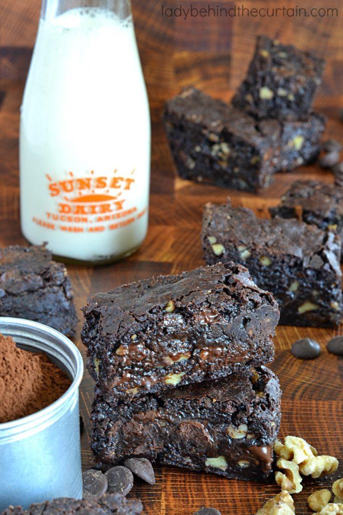 Gooey Homemade Brown Butter Brownies