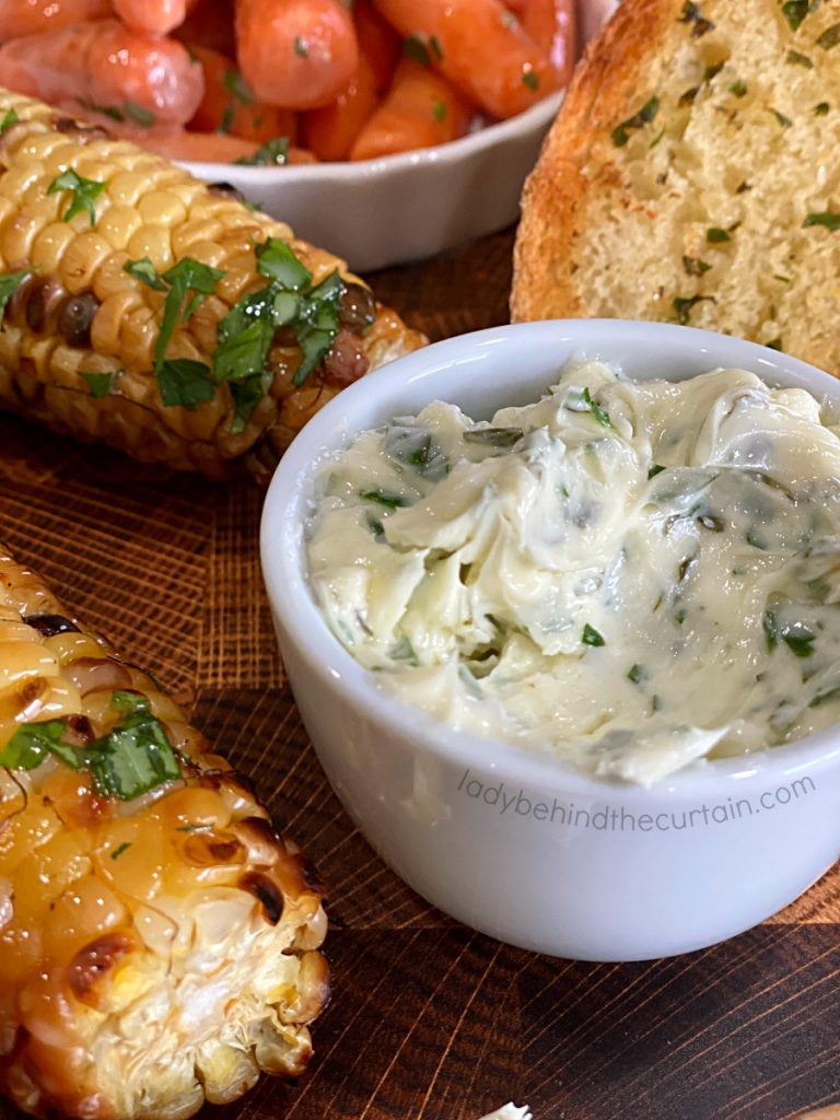 Homemade Garlic Herb Butter
