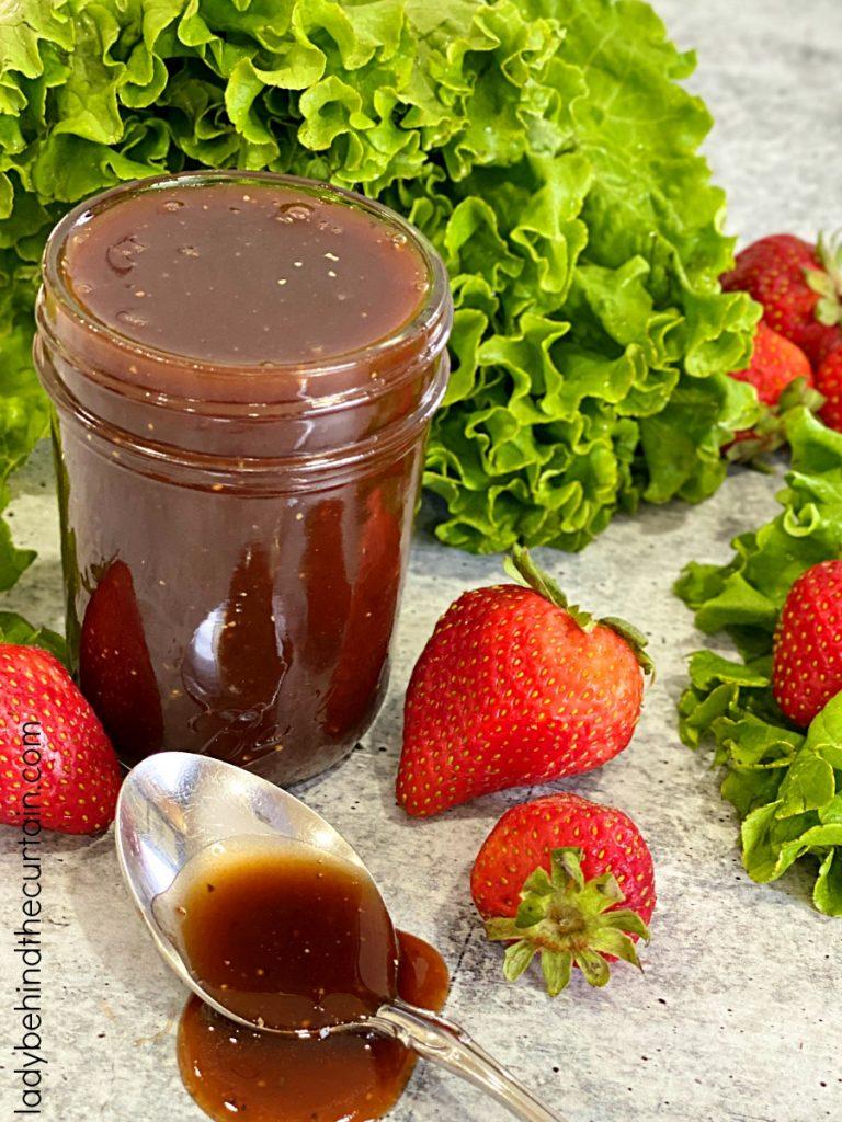 Homemade Strawberry Balsamic Vinaigrette