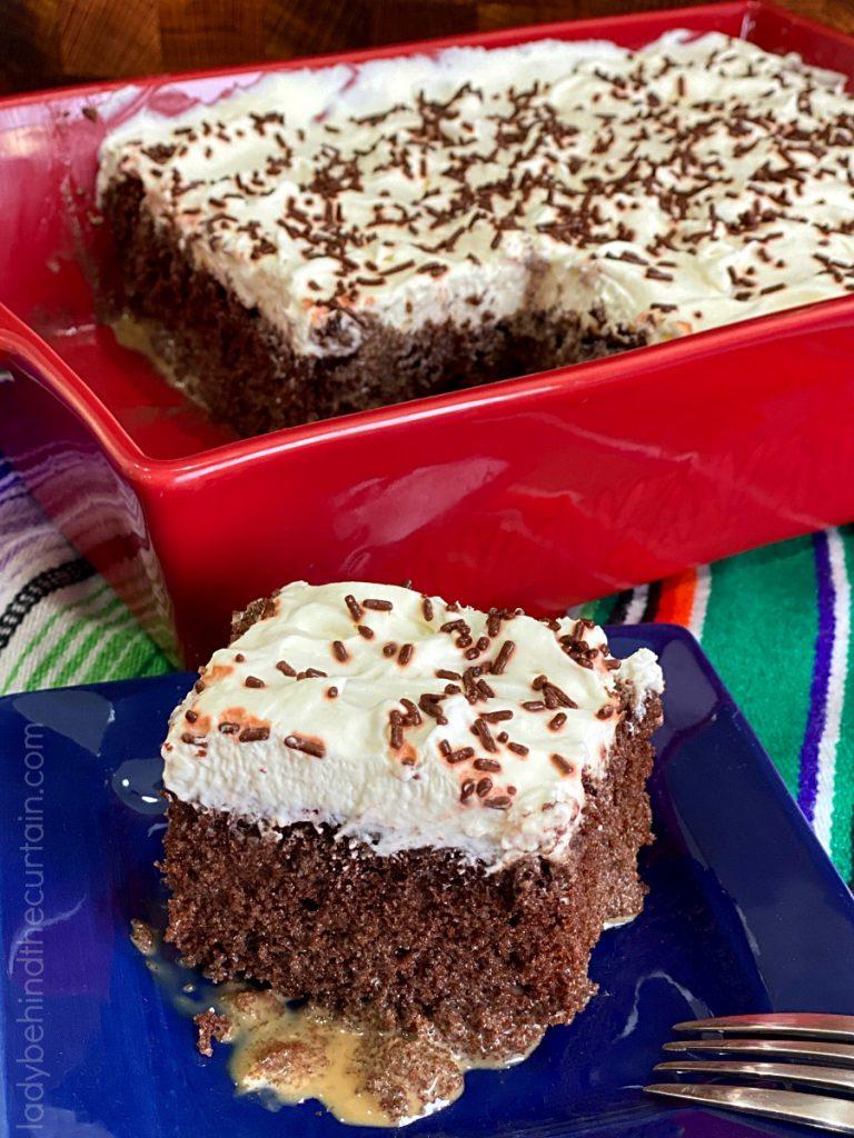 Mocha Tres Leche Cake
