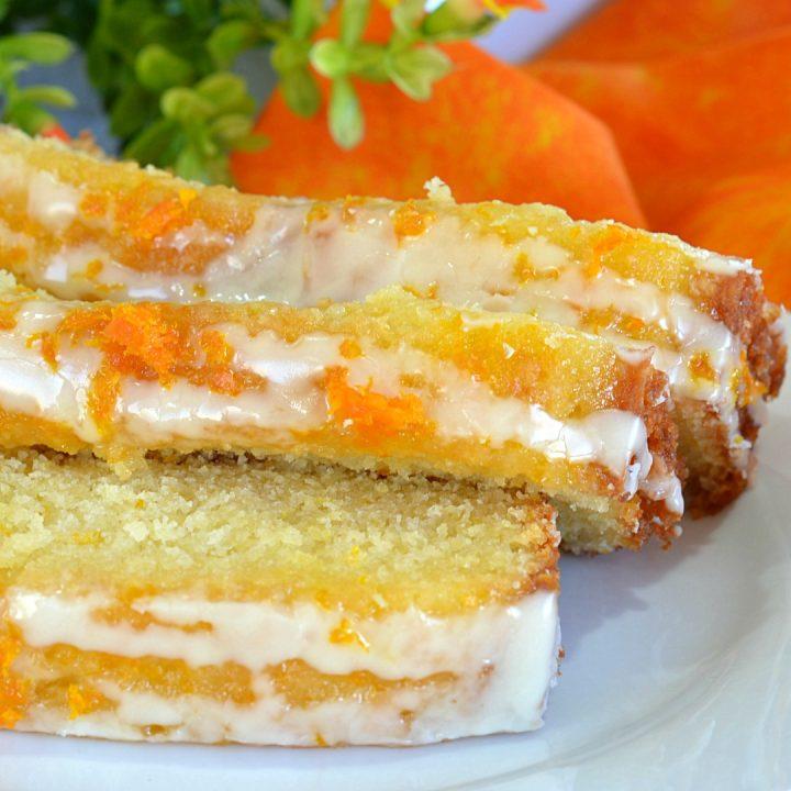 The Best Orange Pound Cake