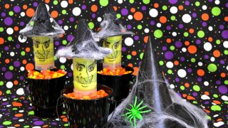 Halloween Witchy Push Up Pops