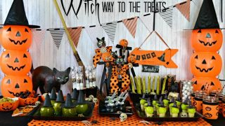 Witch Way To The Treats Halloween Party