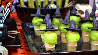 Witchy Piñata Halloween Cookie Cones